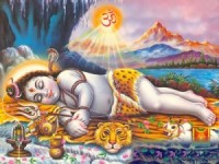 Sleeping Shiva